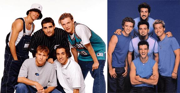 backstreet boys vs nsync photo