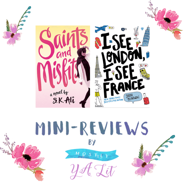Saints and Misfits & I See London, I See France | Mini-Reviews