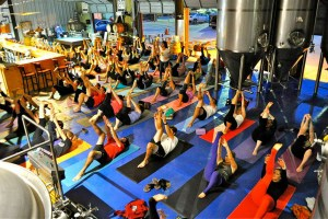 Yoga-Class-at-Holy-City-Brewing