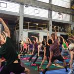 Bendy Beer – Yoga at Warped Wing