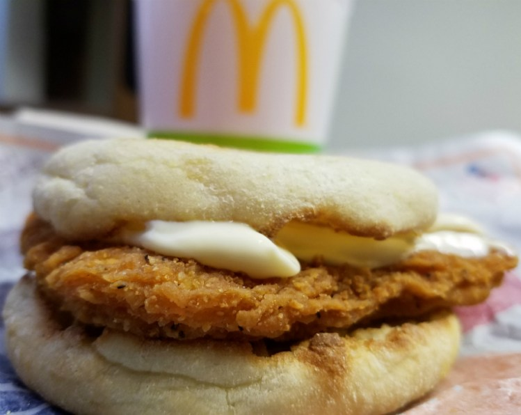 How about a Chicken McMuffin with some mayo?