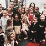 Children Celebrate the Holidays at the Sugar Plum Tea