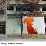 First of Five Colorful Artworks to Enliven the City Created