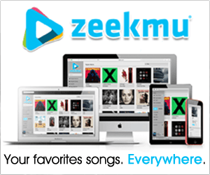 Listen to million songs with Zeekmu®!