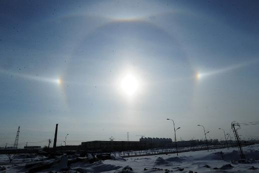 3 suns in China