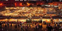 ساحة جامع الفنا جمال مغربي لا يُقاوم!