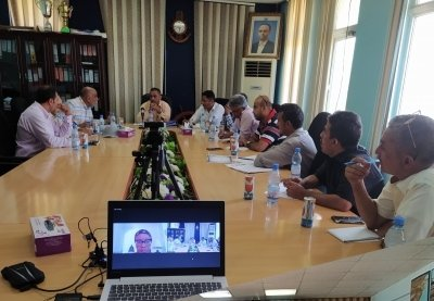 Photo of Resuming discussion of the matrix of rehabilitation projects for the Corporation's ports