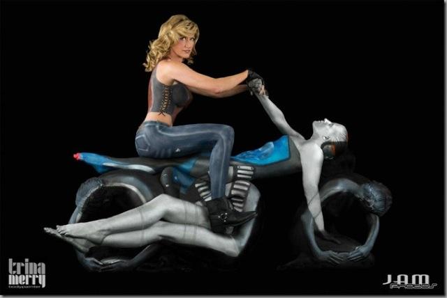 human motorcycle 2