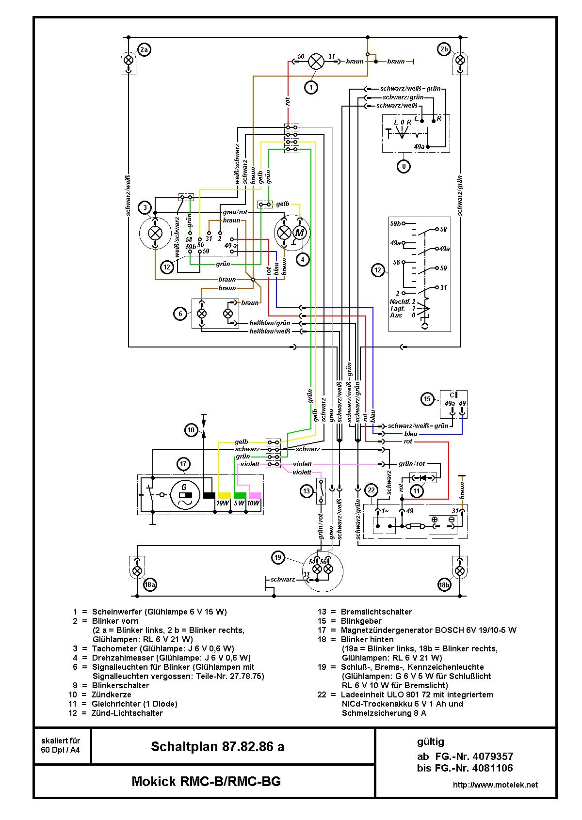 Kreidlerrmc B Rmc Bg Schaltplan