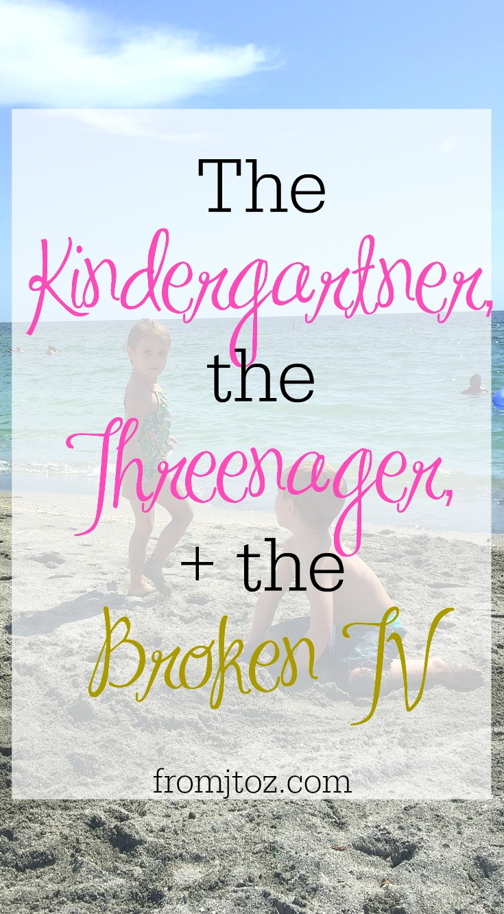 The Kindergartner, the Threenager, and the Broken TV