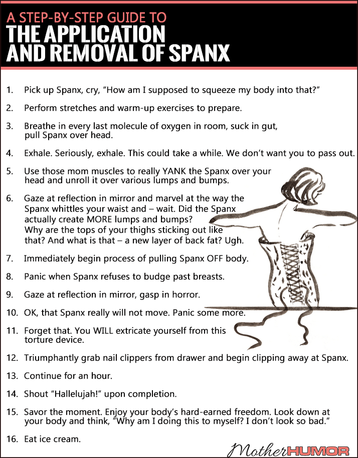 Funny Spanx Guide