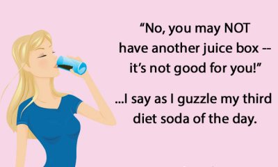 funny mom ecard soda