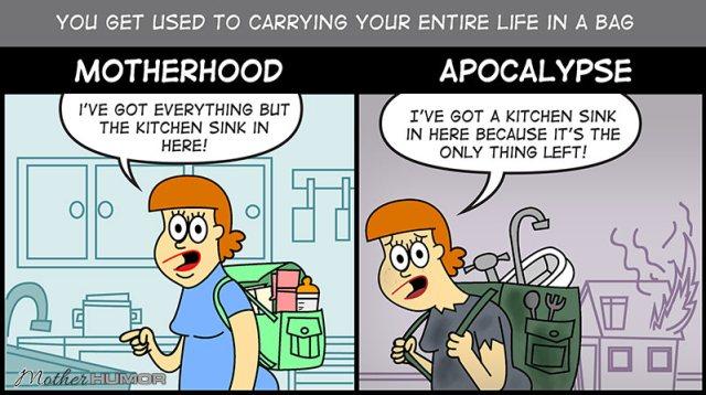motherhood apocalypse cartoon