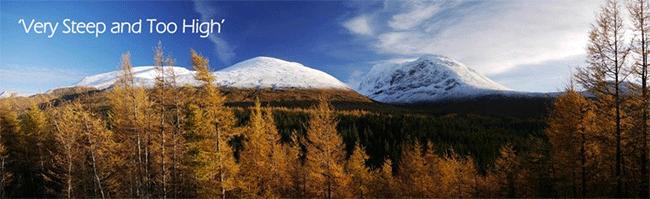 Ben Nevis – tallest mountain in UK