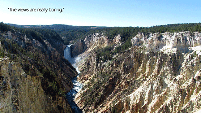 Grand Canyon of the Yellowstone, WY, US