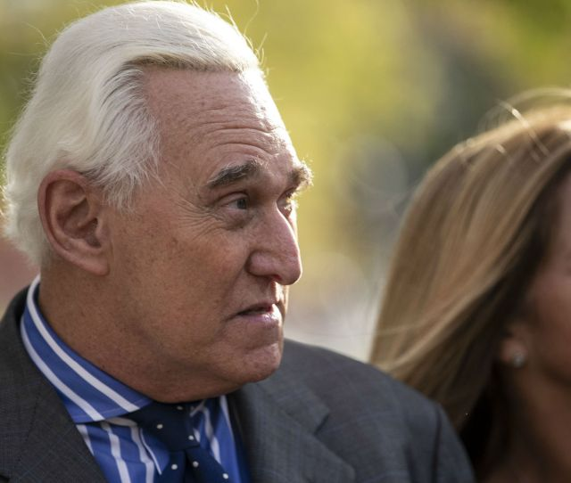 Roger Stone Wants A Pardon He Previously Tried To Get One For