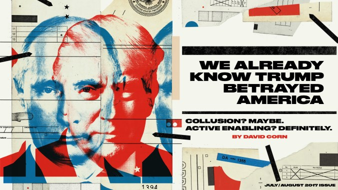 Trump Is Already Guilty of Aiding Putin's Attack on America – Mother Jones