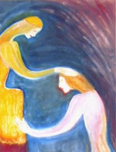 l'âme pure entièrement soumise à la Mère Divine