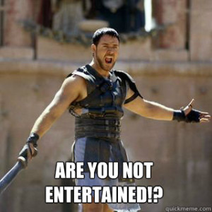 internet marketing - are you not entertained