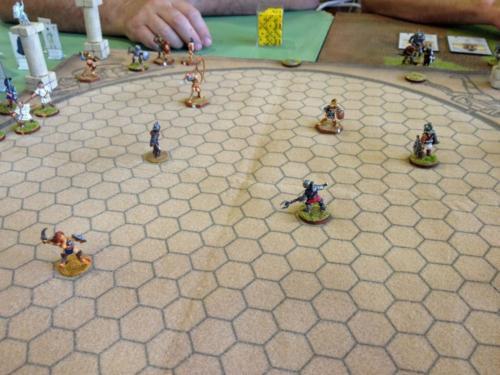 Gladiators Demonstration Game