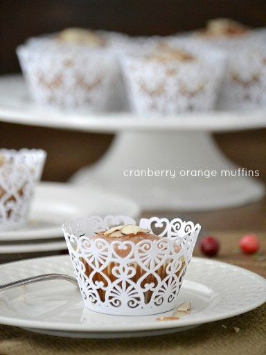 Cranberry Orange Muffins from Holiday Thyme Cookbook