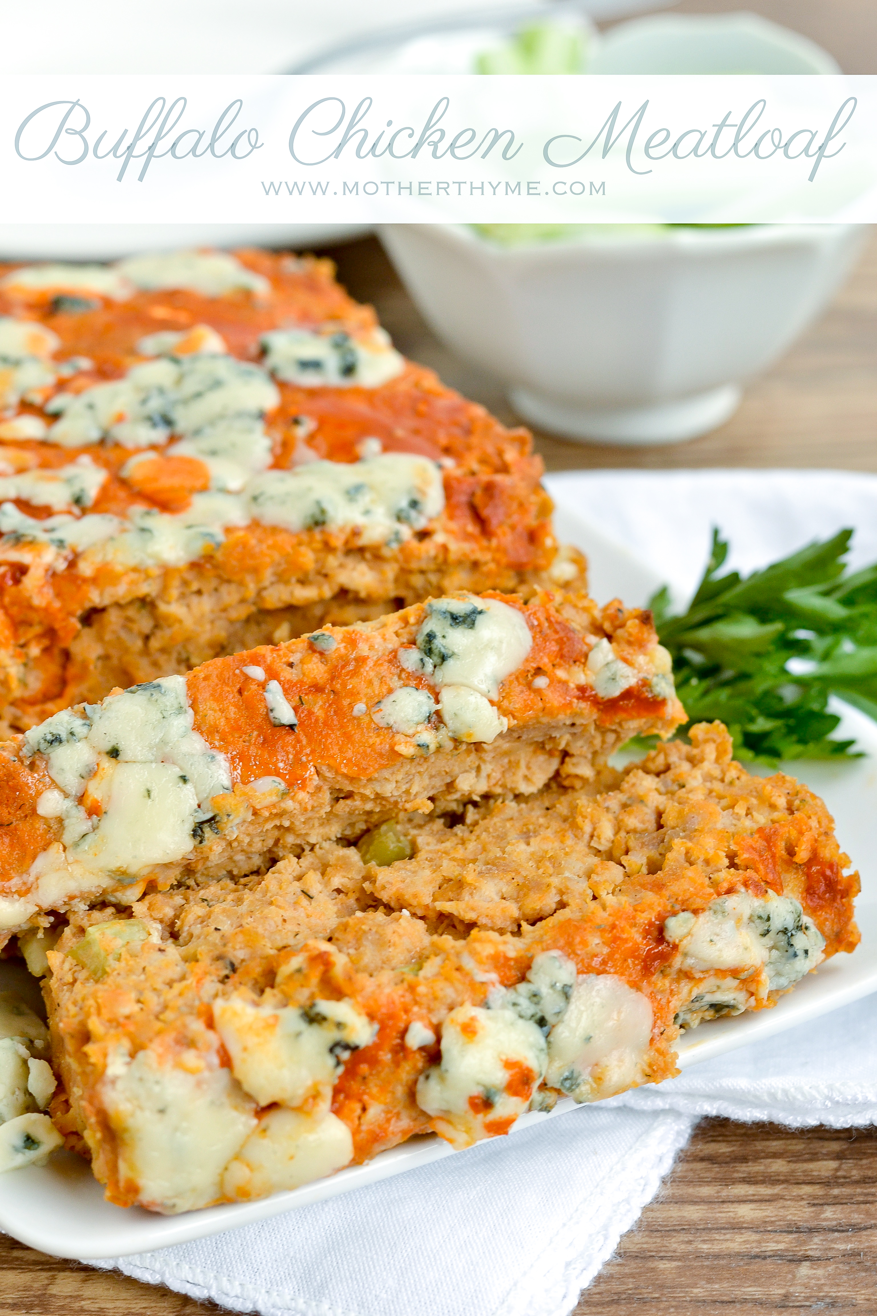 Buffalo Chicken Meatloaf Mother Thyme