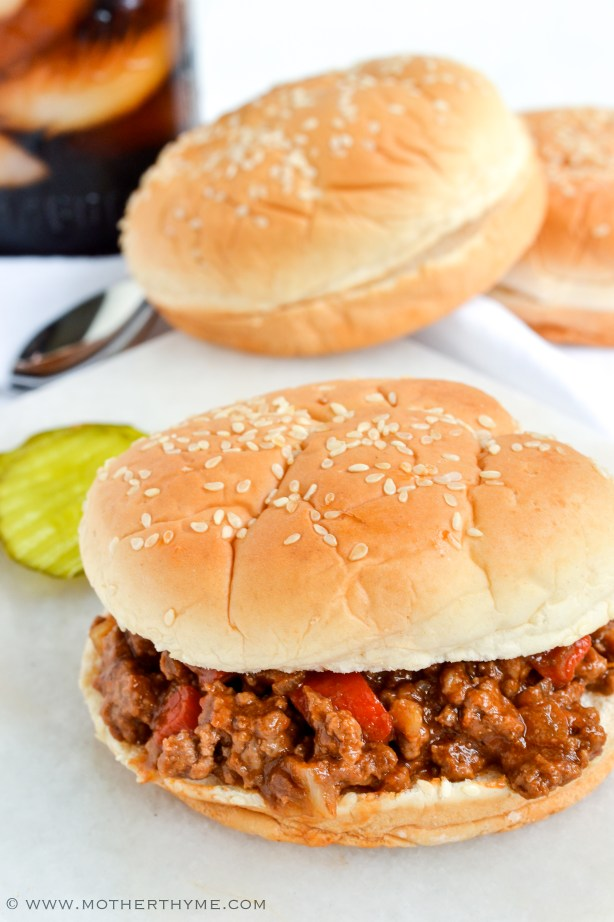 Cola Sloppy Joes - Mother Thyme