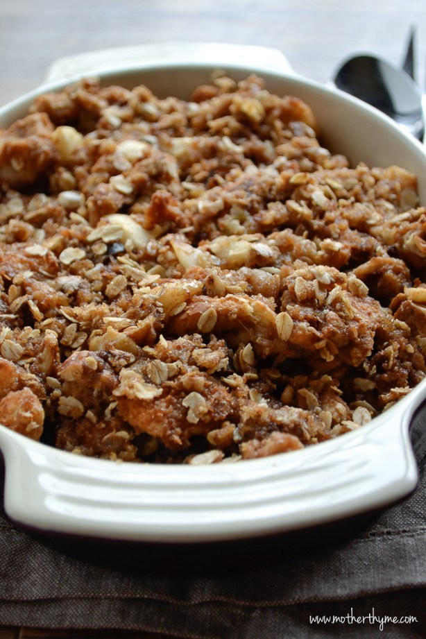 Apple Pecan Stuffing | www.motherthyme.com