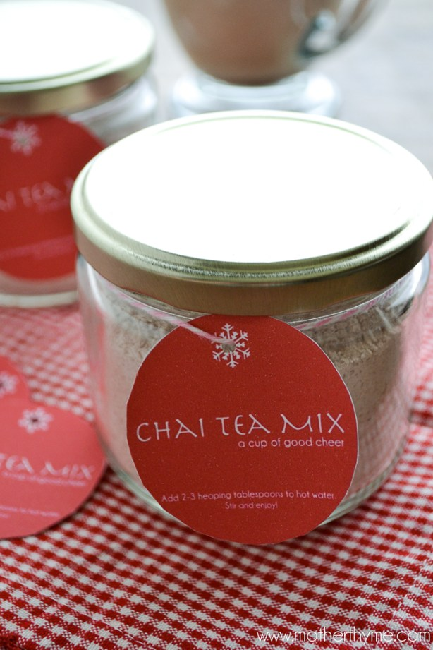 Chai Tea Mix | www.motherthyme.com