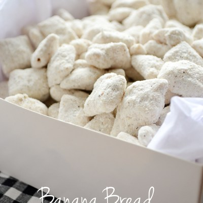 Banana Bread Muddy Buddies