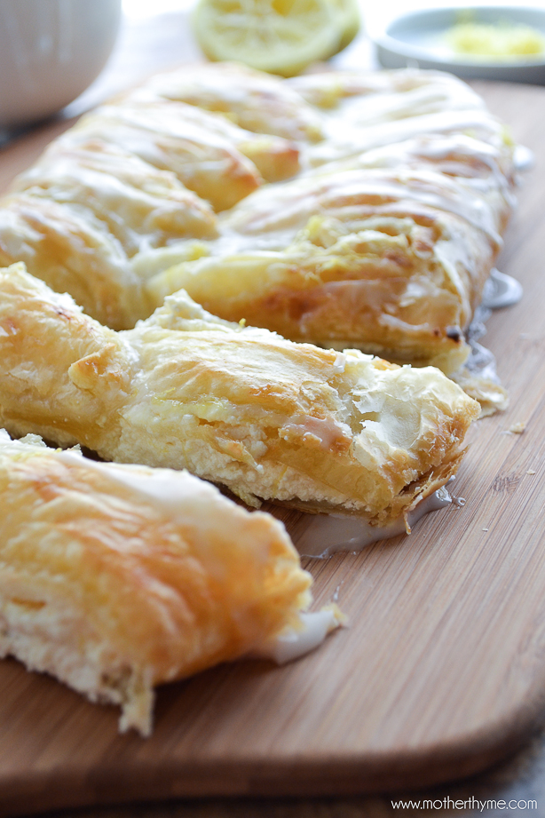 Lemon Ricotta Danish | www.motherthyme.com