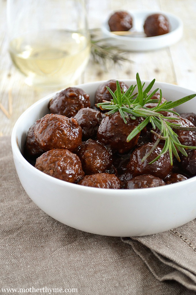 Slow Cooker Holiday Meatballs
