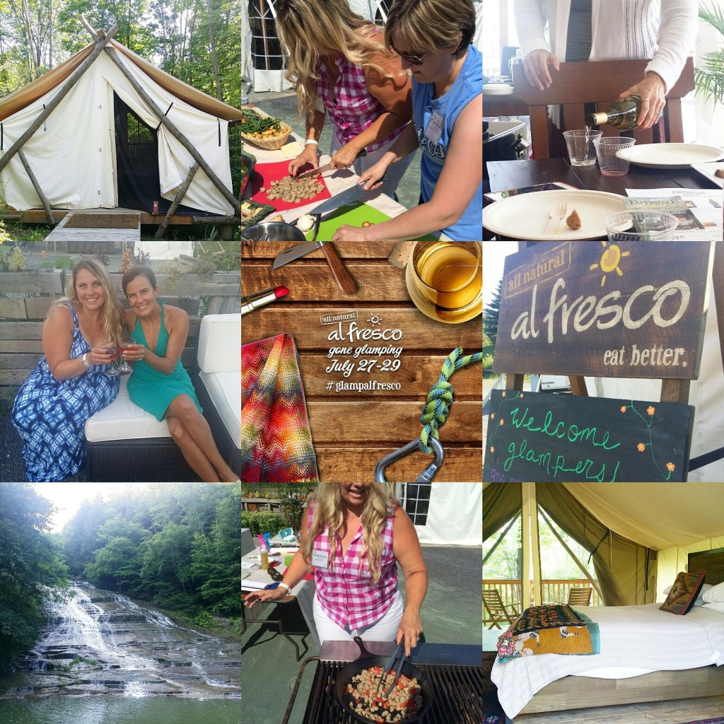 Glamping with al fresco®