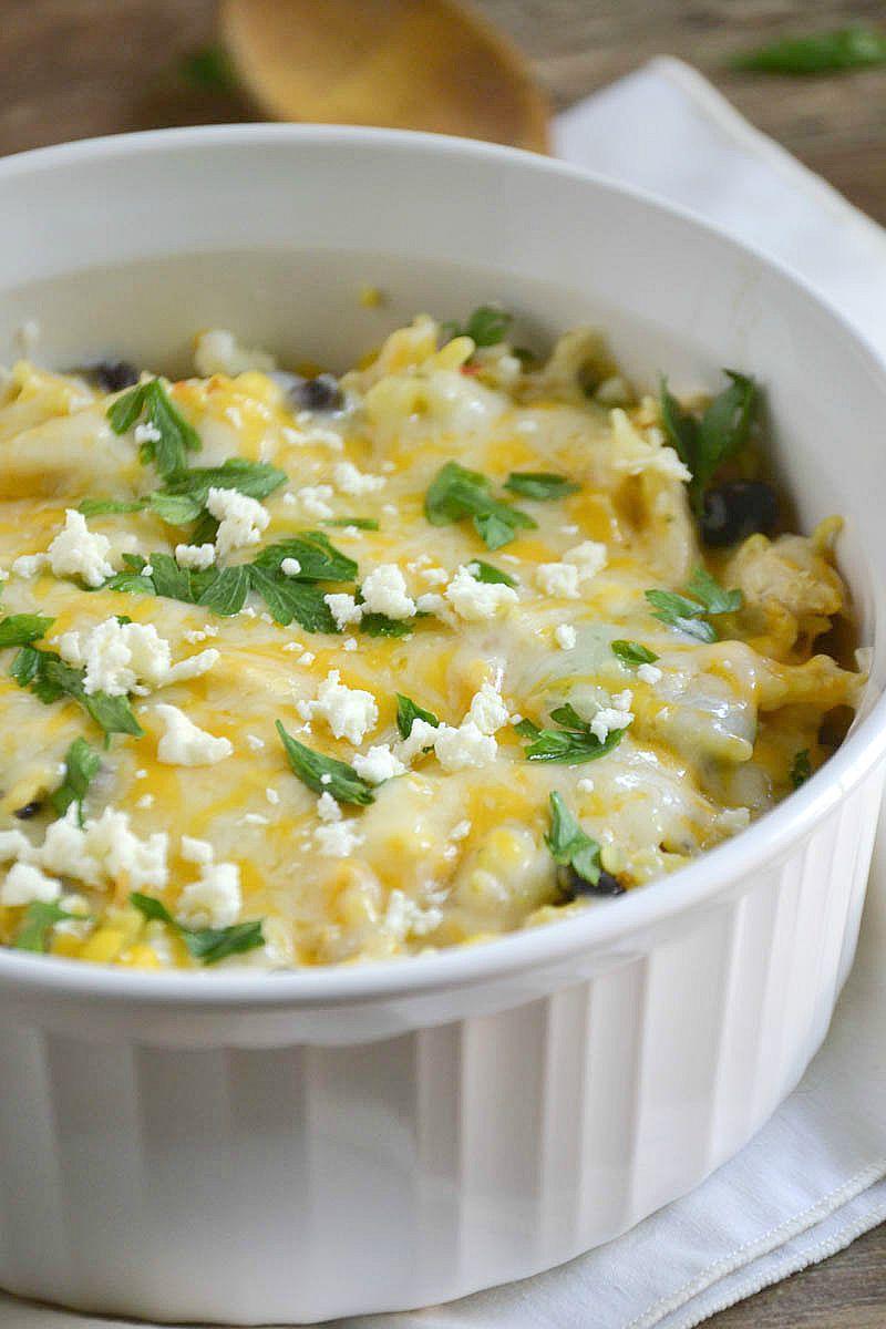 Cheesy Fiesta Chicken | www.motherthyme.com