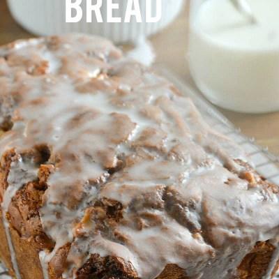Apple Cinnamon Swirl Bread + KitchenAid Apple Challenge