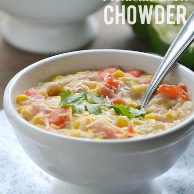 Dairy-Free Mexican Corn Chowder