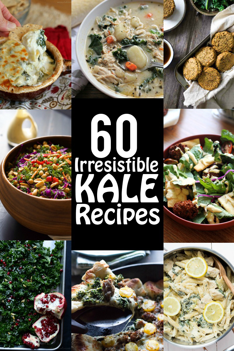 60 Irresistible Kale Recipes | www.motherthyme.com