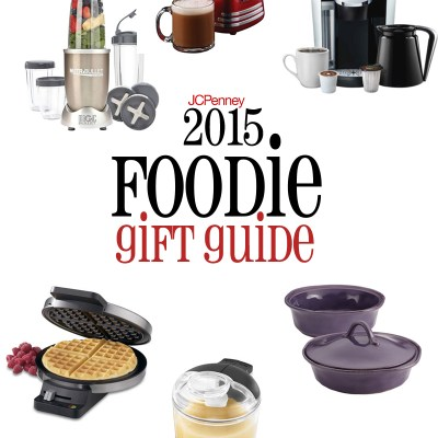 2015 Foodie Gift Guide + $100 JCPenney Gift Card Giveaway