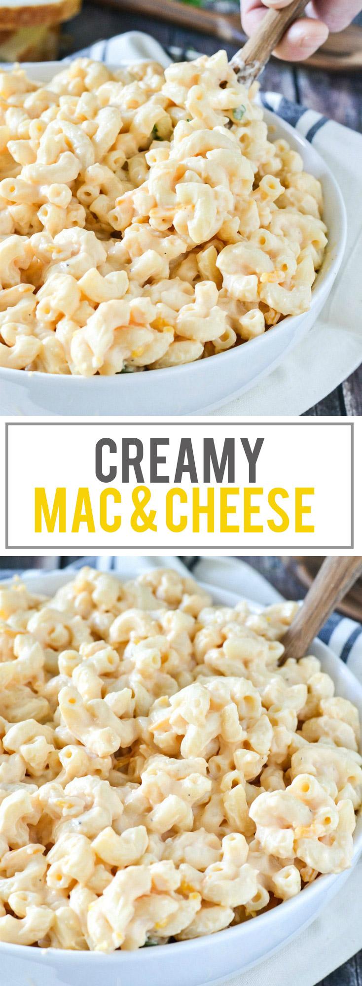 Creamy Macaroni and Cheese | www.motherthyme.com