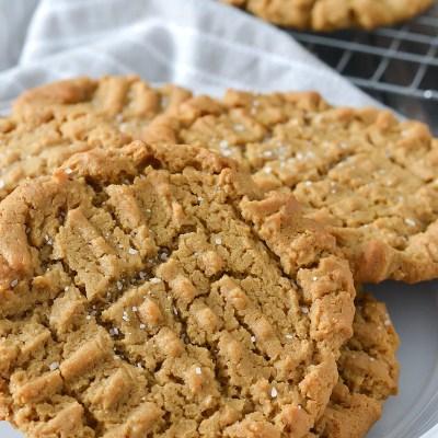 Gluten-Free Bakery Style Peanut Butter Cookies