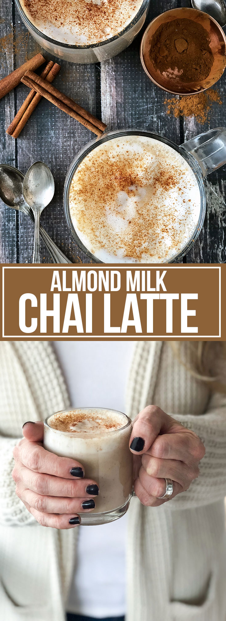 ALMOND MILK CHAI LATTE