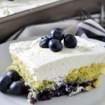BLUEBERRY LEMON POPPY SEED CAKE