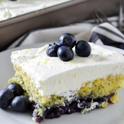 Blueberry Lemon Poppy Seed Cake