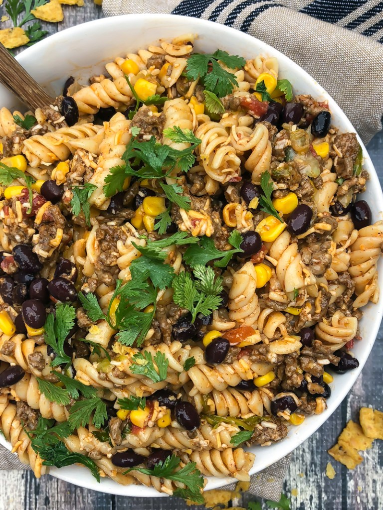 LOADED TACO PASTA SALAD