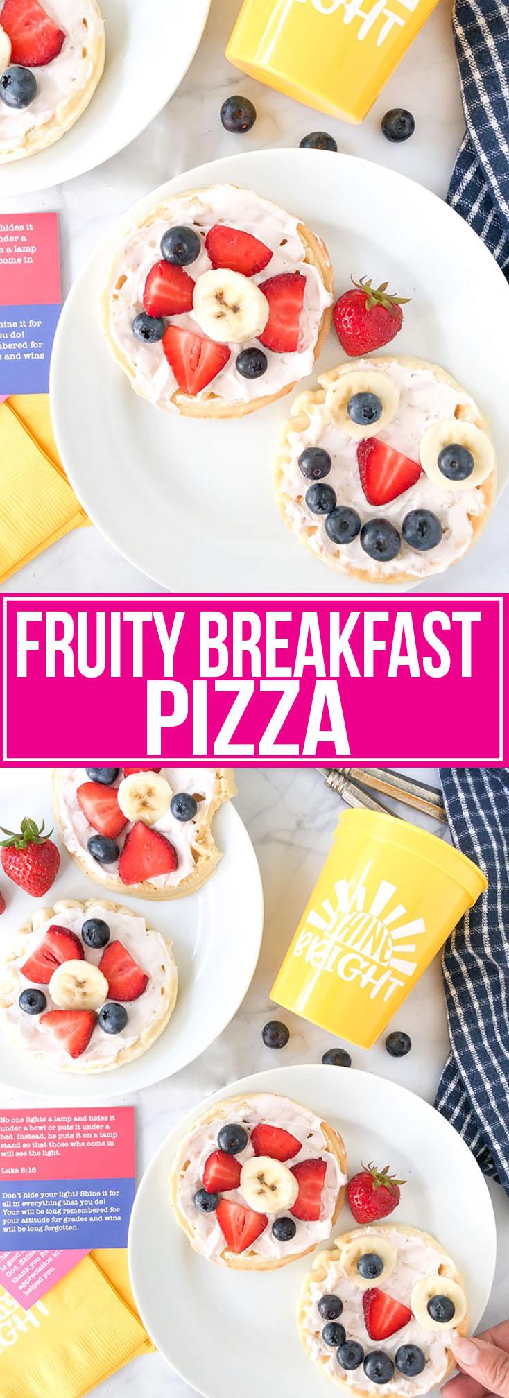 FRUITY BREAKFAST PIZZA