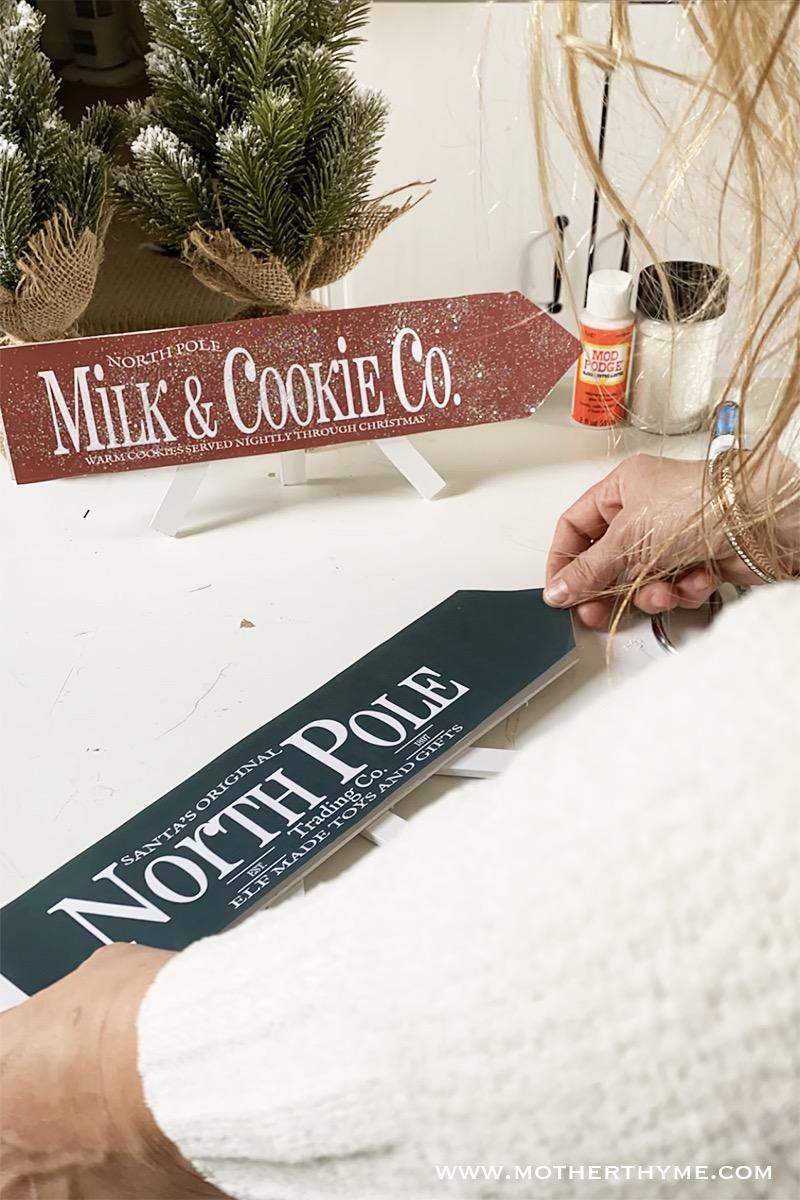 DIY CHRISTMAS ARROWS - FREE PRINTABLES