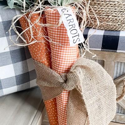 DIY Carrot Door Hanger – Free Printable