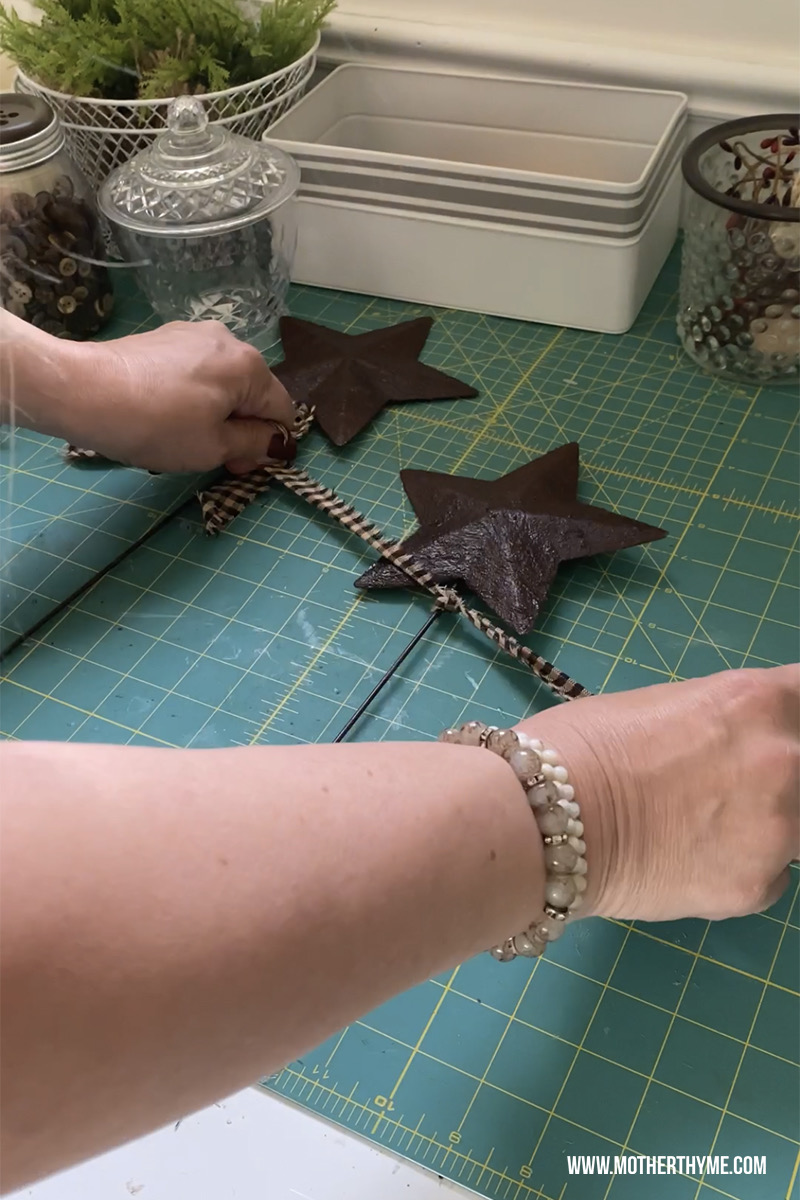 STAR RUSTED GARDEN STAKE