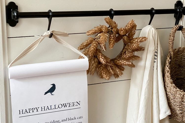 FALL AND HALLOWEEN SCROLLS - FREE PRINTABLES