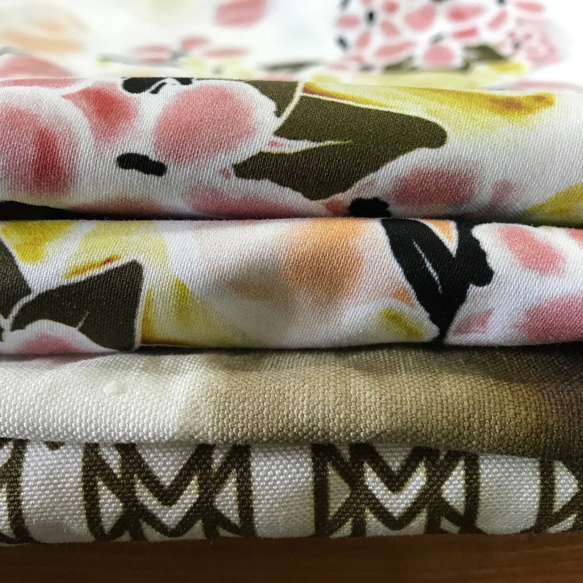folded signature collection fabrics